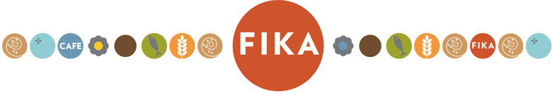 Fika Logo with other colorful circles